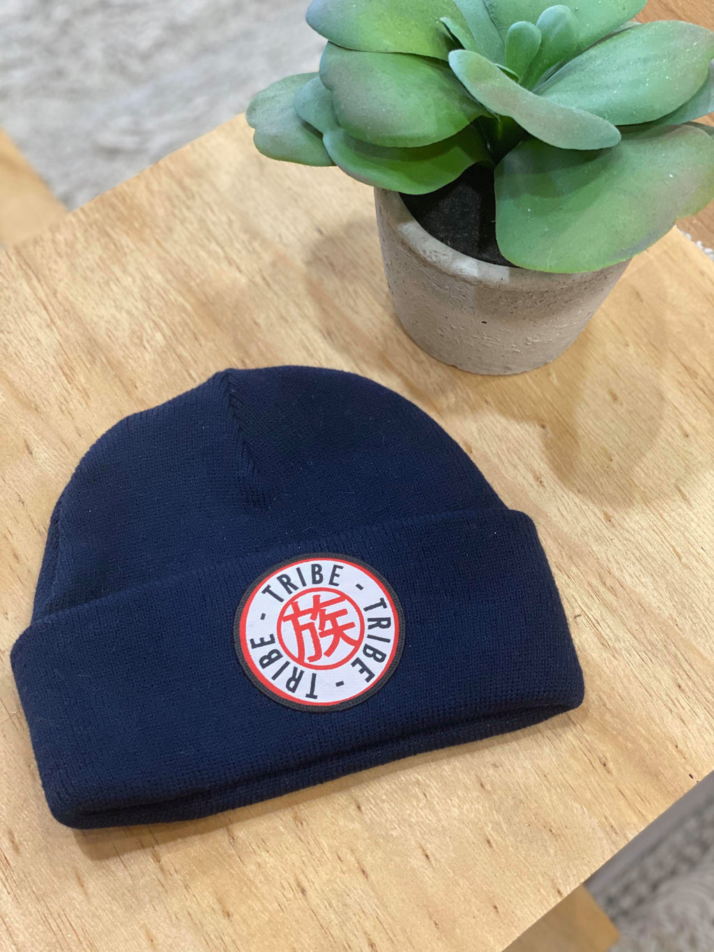 Tribe Apparel Patched Beanie