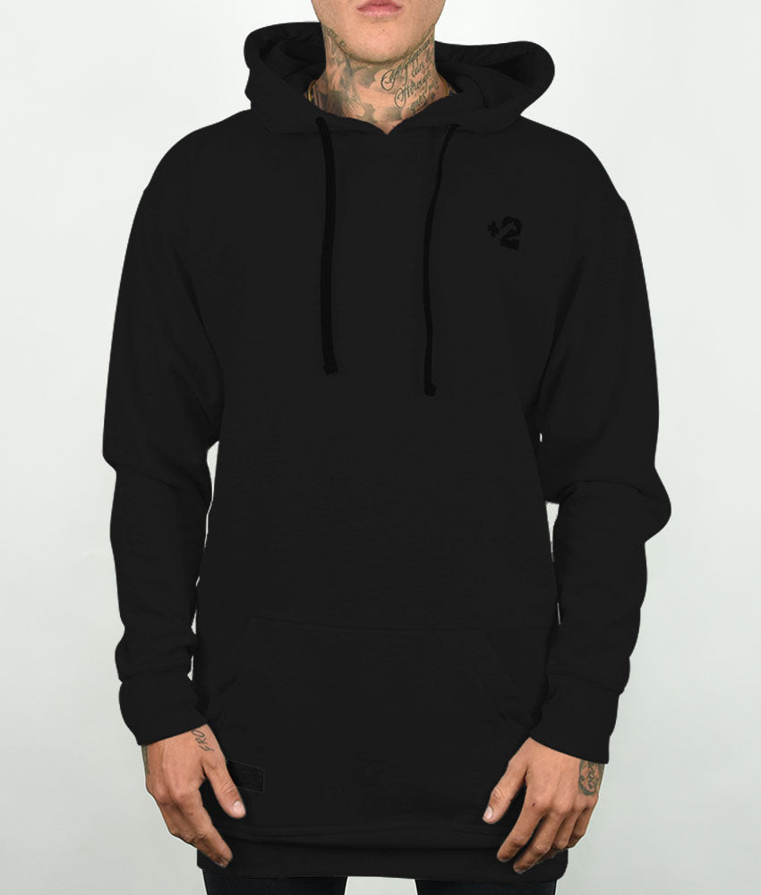 Plus 2 Blackout Tall Hoodie