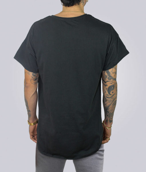 Plus 2 Curved Hem Tall Tee