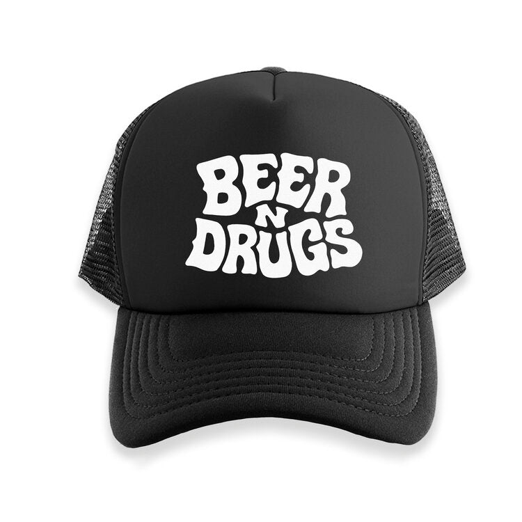 Beer N Drugs Trucker Hat