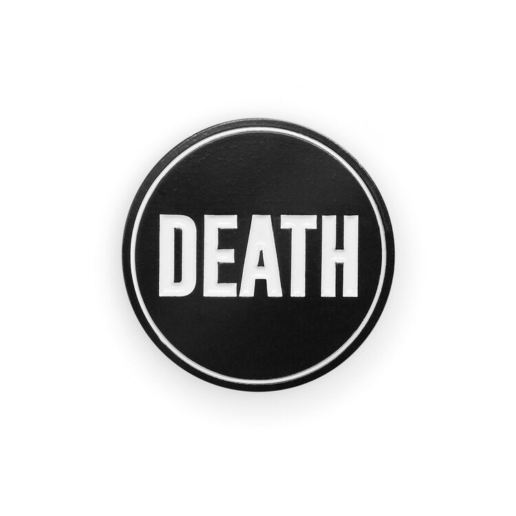 Black Death Lapel Pin