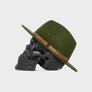 Billy Bones Club 'Jungle Green' Fedora