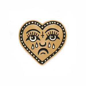 Love Sucks Lapel Pin
