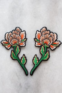 Stay Home Club 'Peonies' Patch Set
