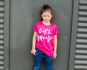 Mannix & Co Girl Squad Kids Tee