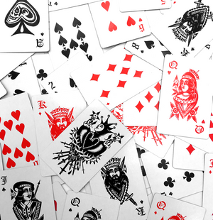 'Maples' Playing Cards