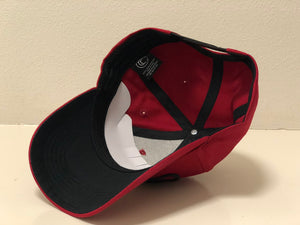 Cartel Company Baseball Snapback Red Wine