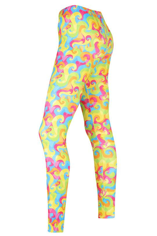 Totally Terrific Tie Dye Leggings