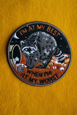 Stay Home Club 'At My Best' Patch