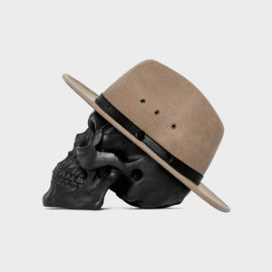 Billy Bones Club 'Salted Caramel' Fedora