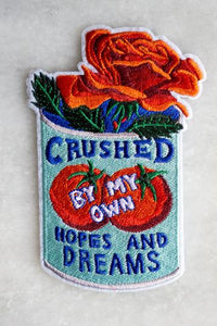 Stay Home Club 'Crushed' Patch