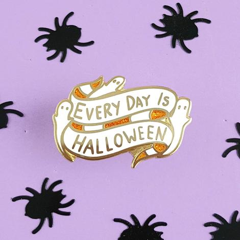 Every Day is Halloween Lapel Pin