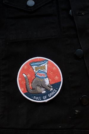 Stay Home Club 'Full of Grace' Patch