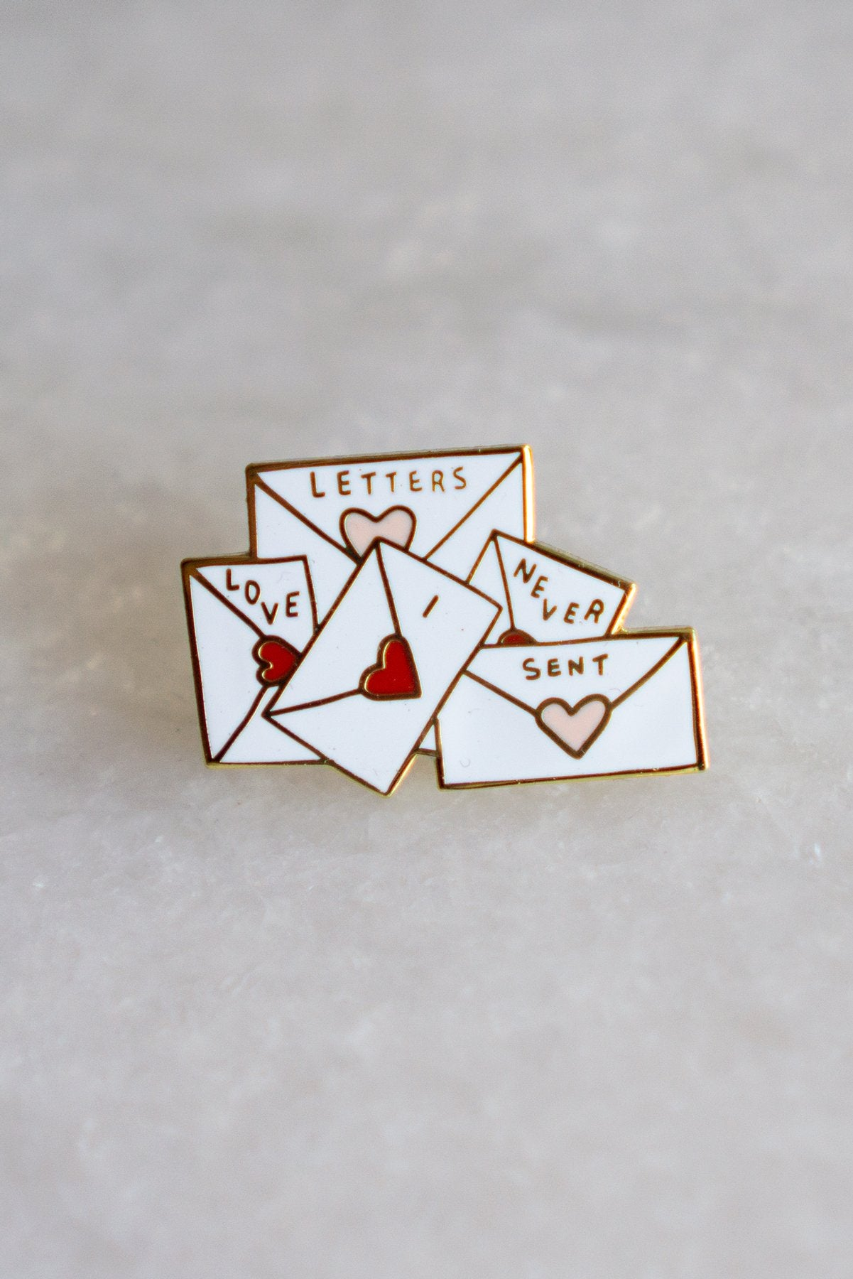 Love Letters Lapel Pin