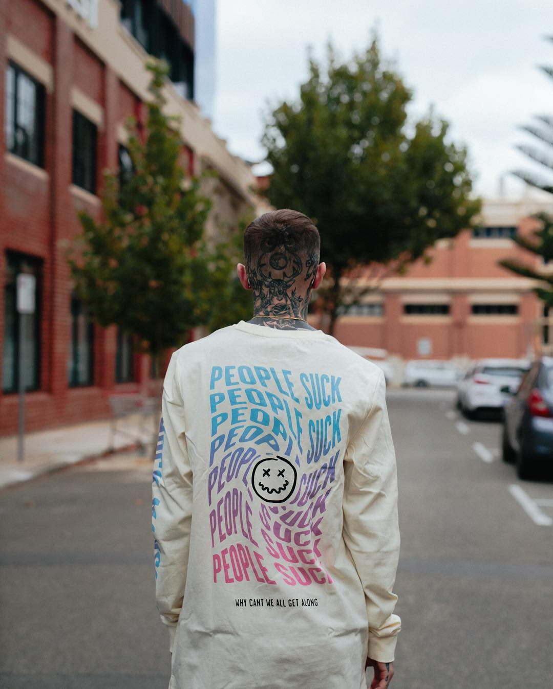 Shock Mansion People Suck Longsleeve