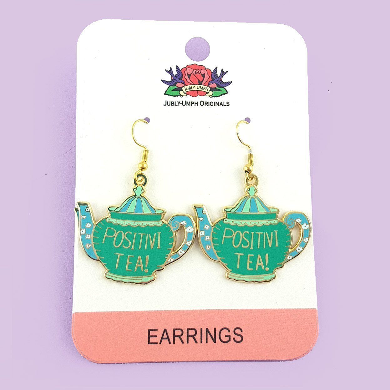 Positivi-Tea-Pot Earrings