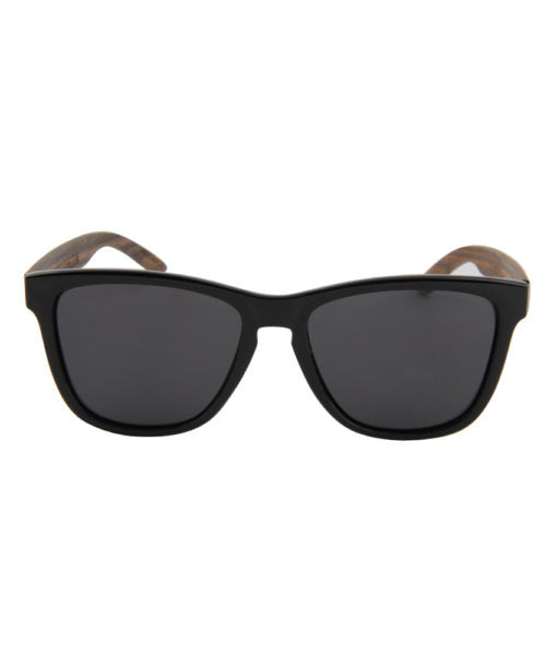 Plus 2 Polarised Wooden Sunglasses