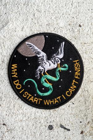 Stay Home Club 'Why Do I Start' Patch