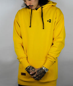 Plus 2 Mellow Yellow Tall Hoodie