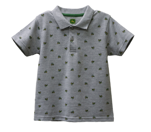 John Deere Boy Toddler Tee Tractor Polo SIZE 3T LP75717