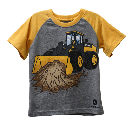 John Deere Boy Toddler Tee Front Loader SIZE 4T         LP72266-4
