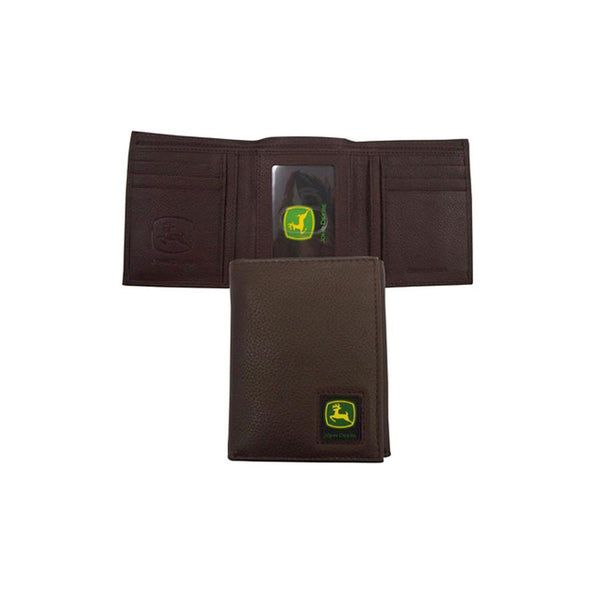 John Deere Tri-fold Wallet with Logo Patch-  LP12269