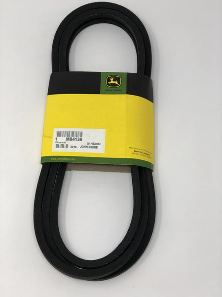 John Deere Secondary Deck Drive Belt - M84136