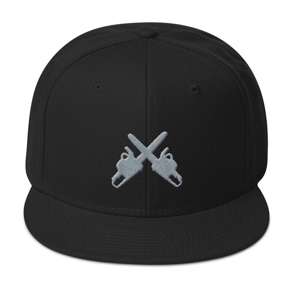 Crossed Axes Snapback Cap