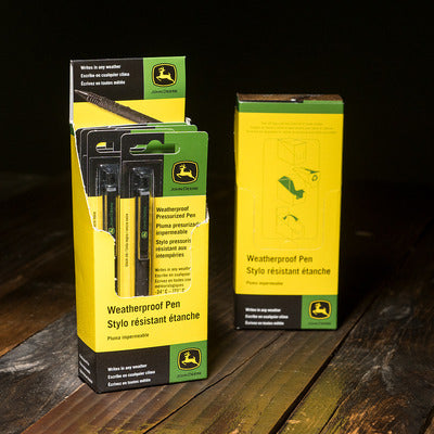 John Deere All-Weather Black Pen    LP67931