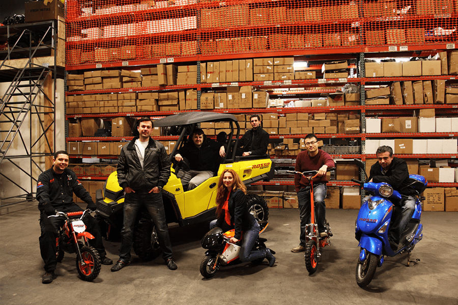 Introducing Rosso Motors Canada: Safe and high performing ATV 4 wheelers. For Kids.