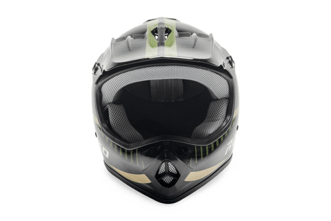 Rosso Motors Off Road Motocross ATV Helmets For Kids in Army Camo DOT Approved
