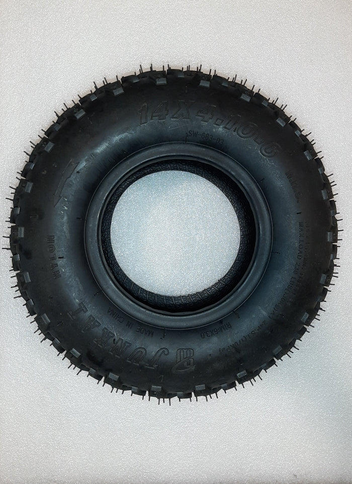 Front Tubeless Tire