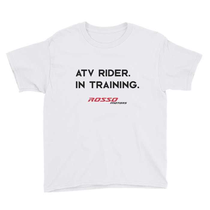 Rosso ATV Rider in Training T-Shirt