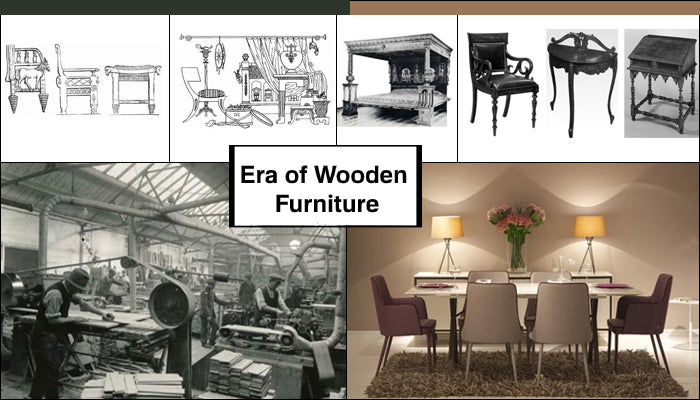 Different Era of Wooden Furniture: A Brief Overview