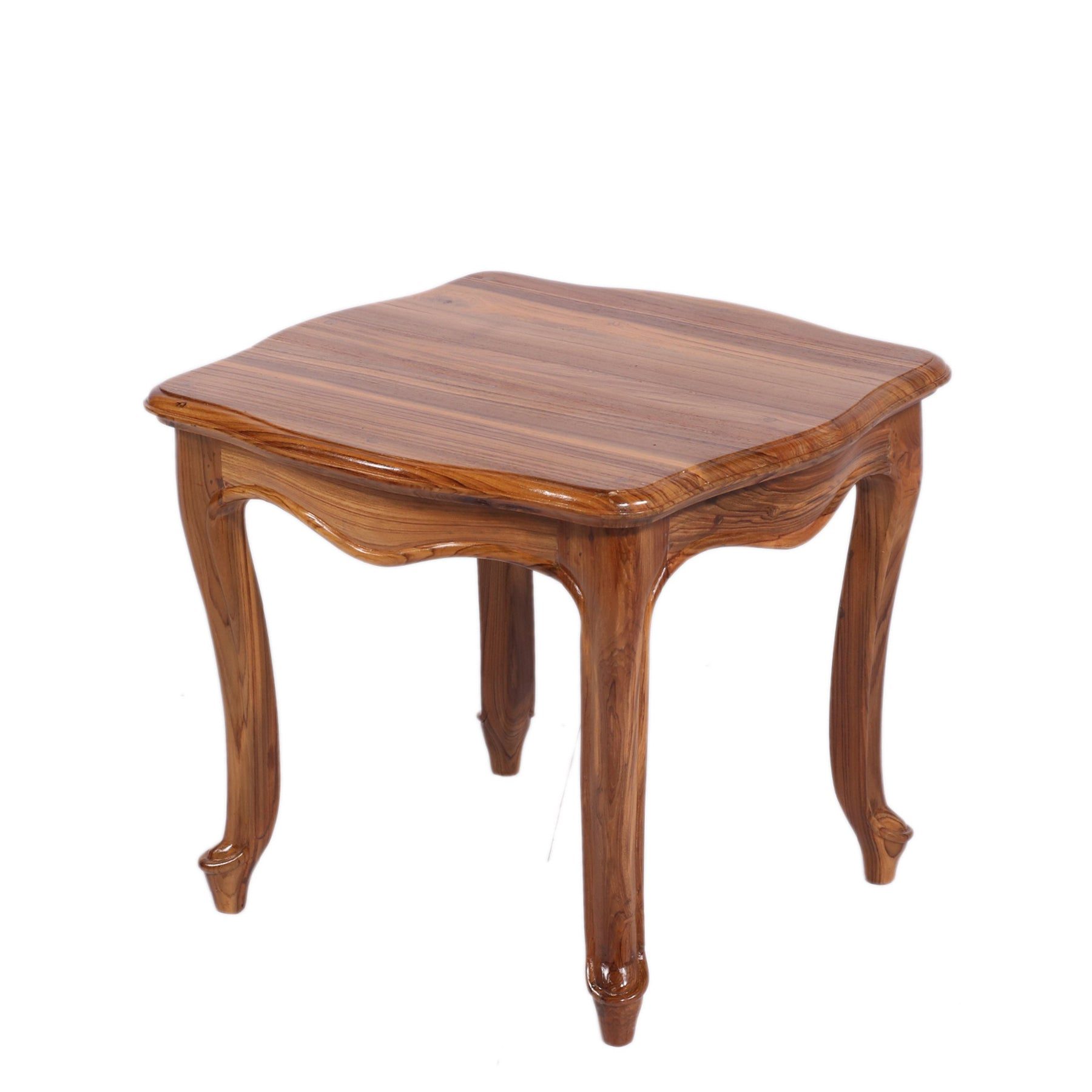 Rectangular Teak Wood Coffee Table