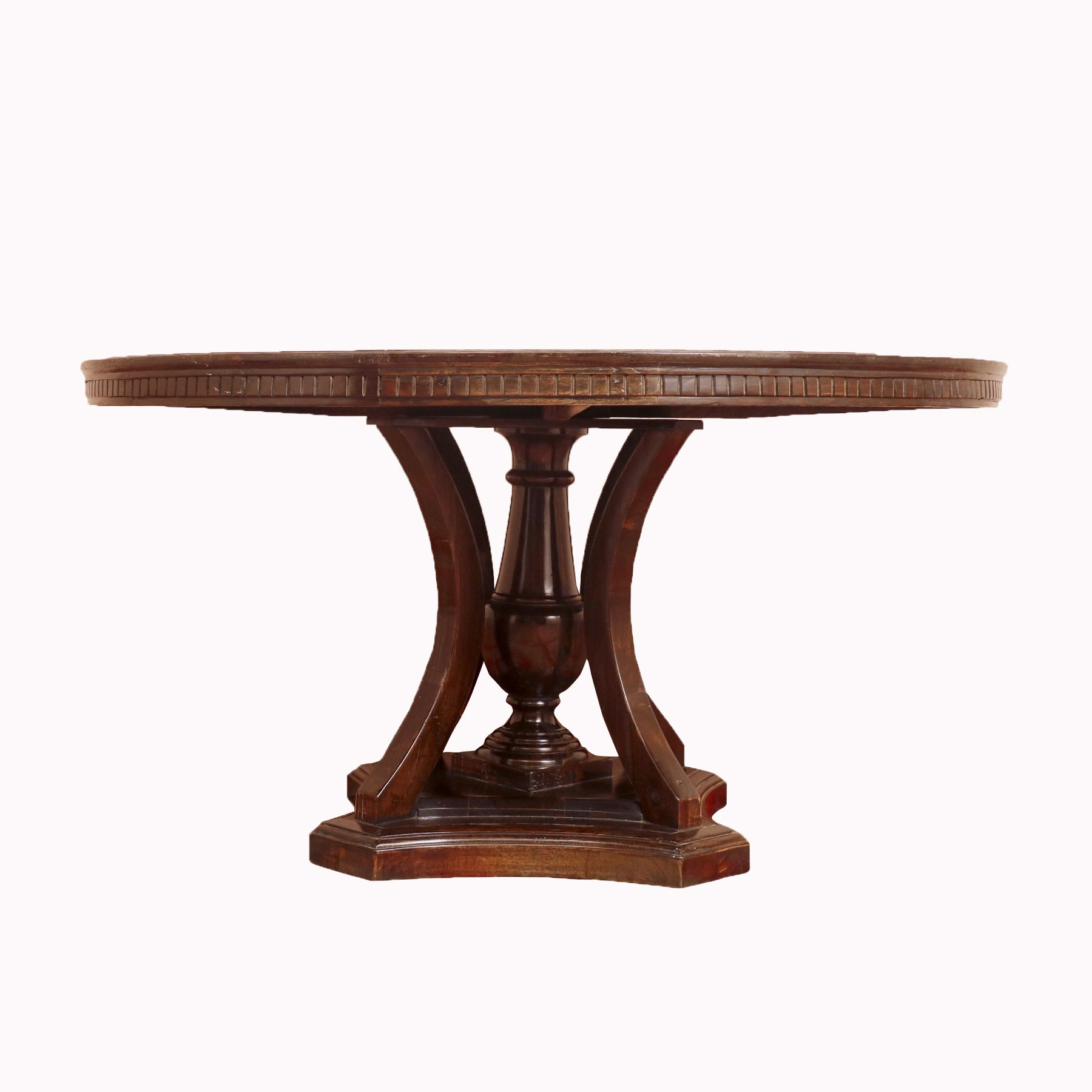 Artisan Black Rounded Dining Table