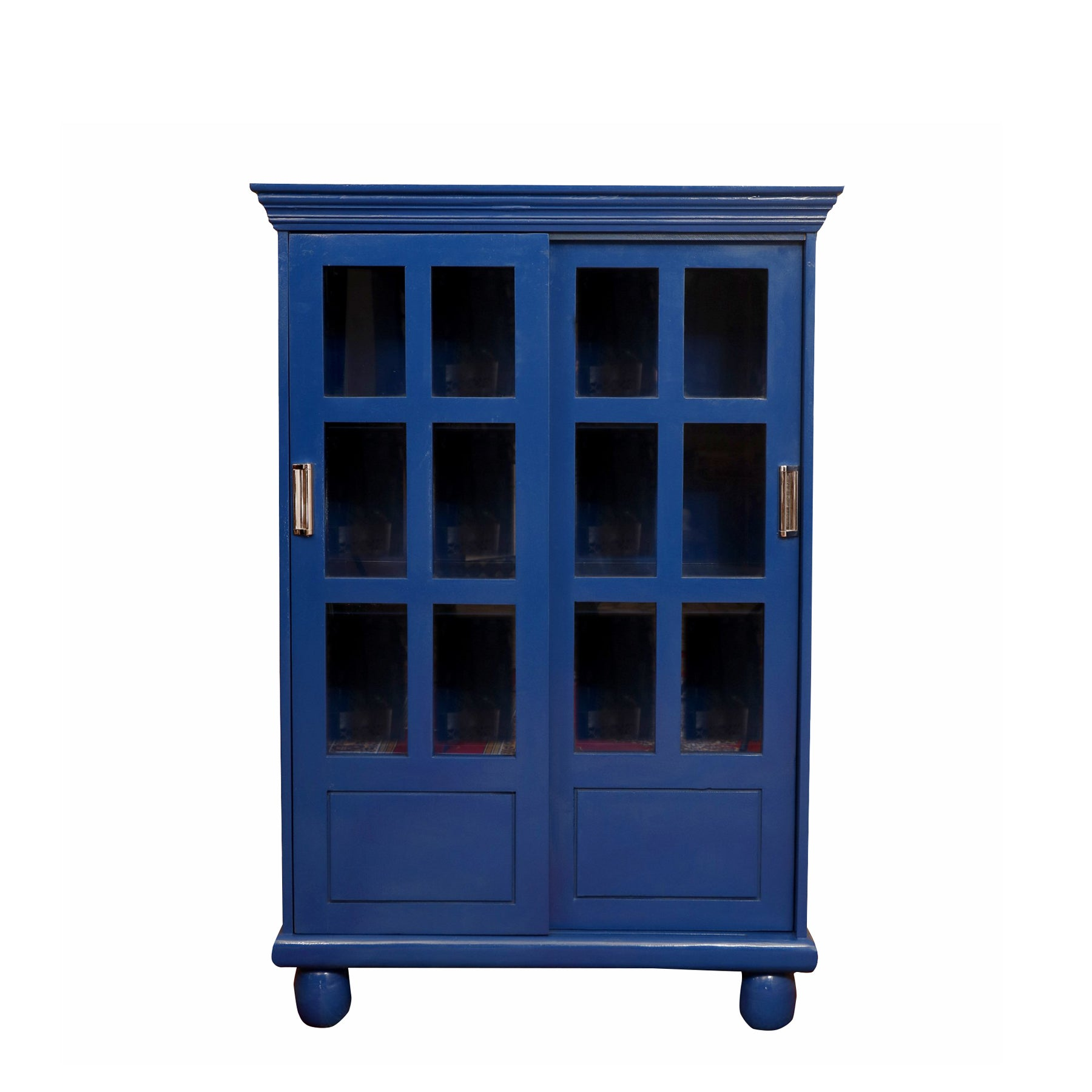 Uber Modish Blue Display Cabinet
