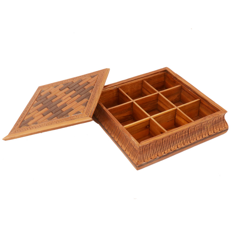 Checkered Tile Box - Woodsala