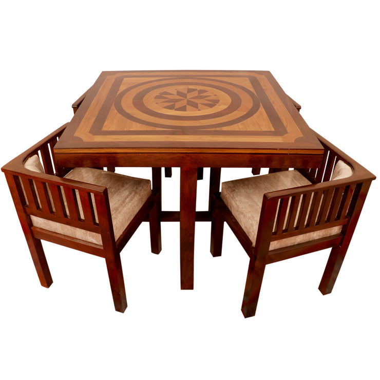 Woodsala Dining Table Set With Adjustable Chair(s) - Woodsala
