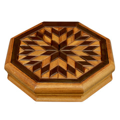 Sun Pattern Box - Woodsala