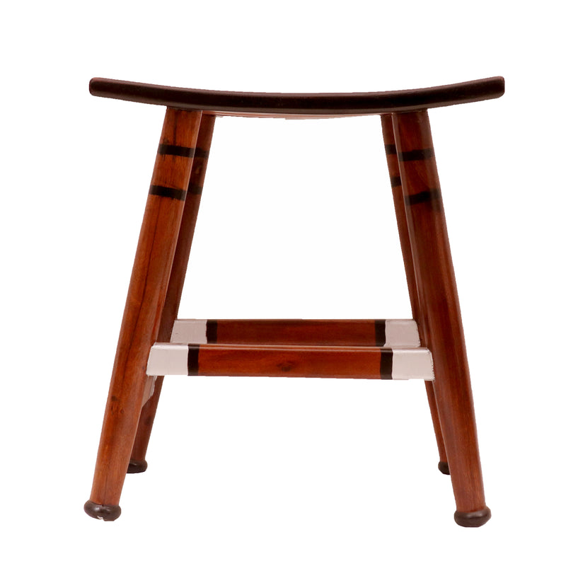 Curved Top Contemporary Stool - Woodsala