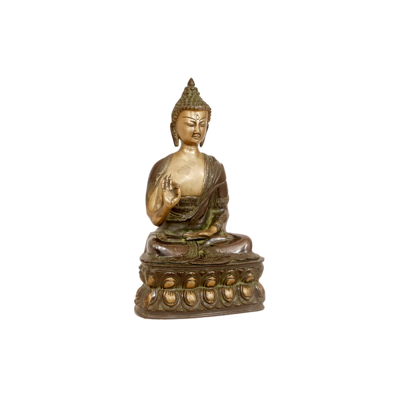 Antique Full Body Buddha Statue – 4kg - Woodsala