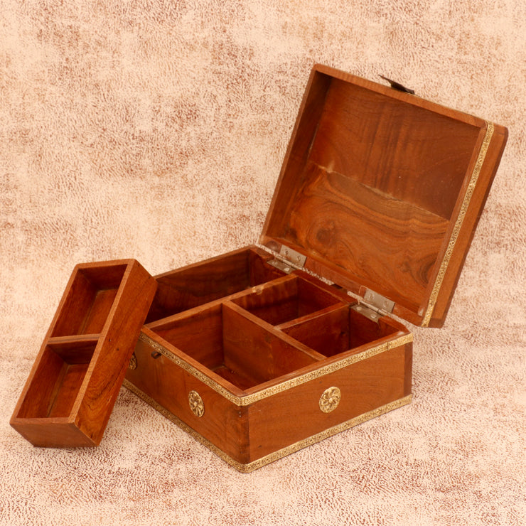 Wooden Wide Boxes - Woodsala