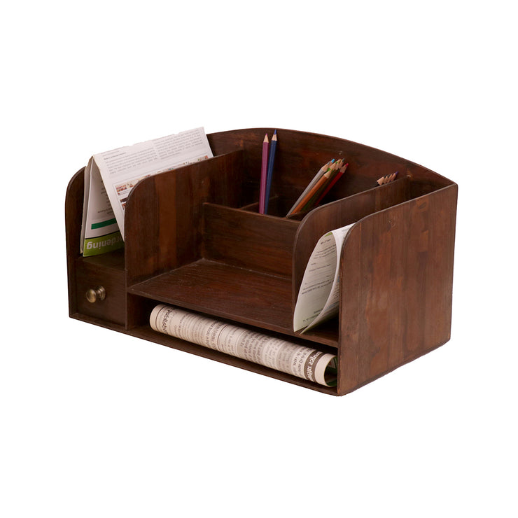 Wooden Arch-shaped Multipurpose Organizer