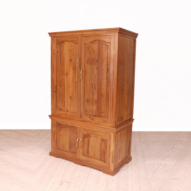 Wooden Alimrah with 2 Large Compartment