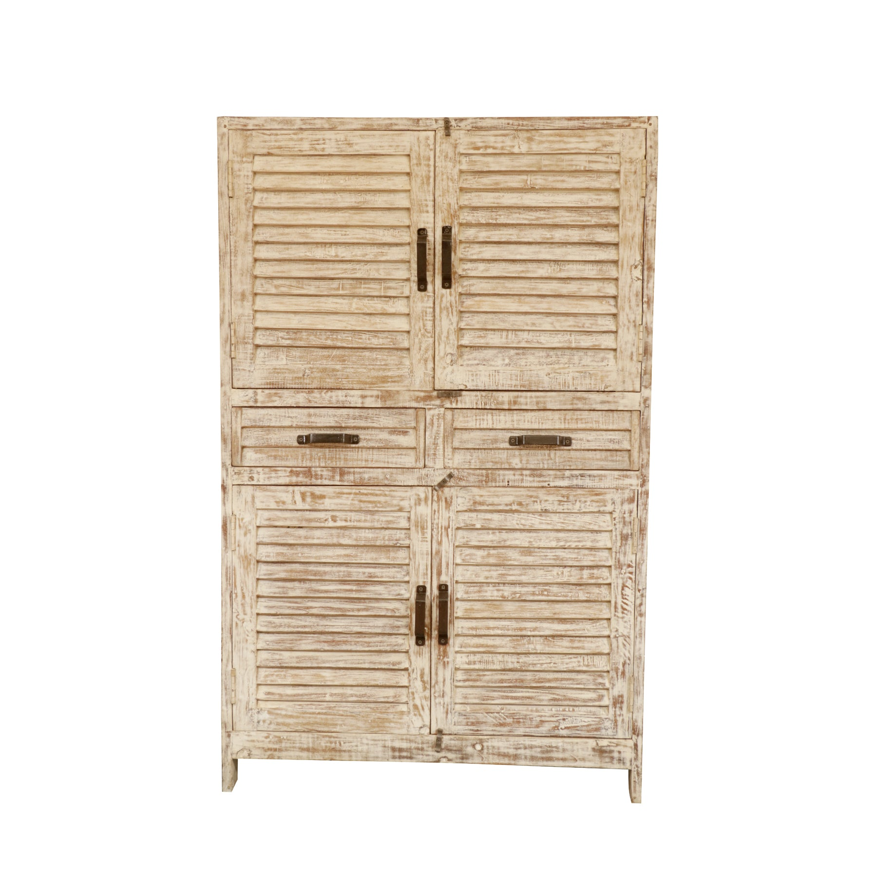 Shuttered White Cupboard