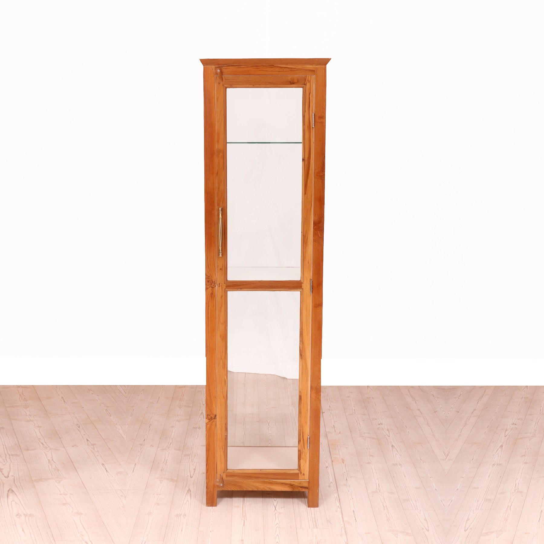 Tall Glass Cupboard