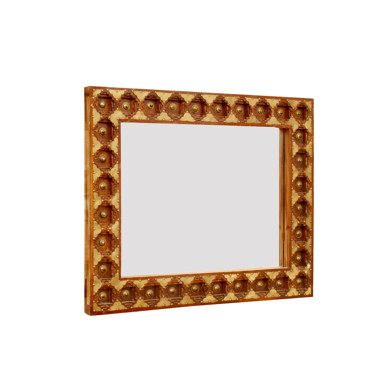 Royal Look Wall Mounted Wall Mirror - Woodsala