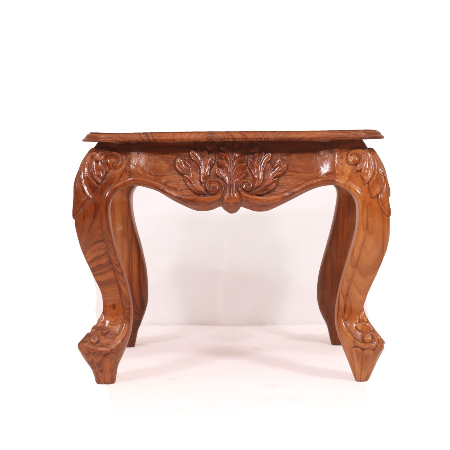 Carving Teak Wood Coffee Table