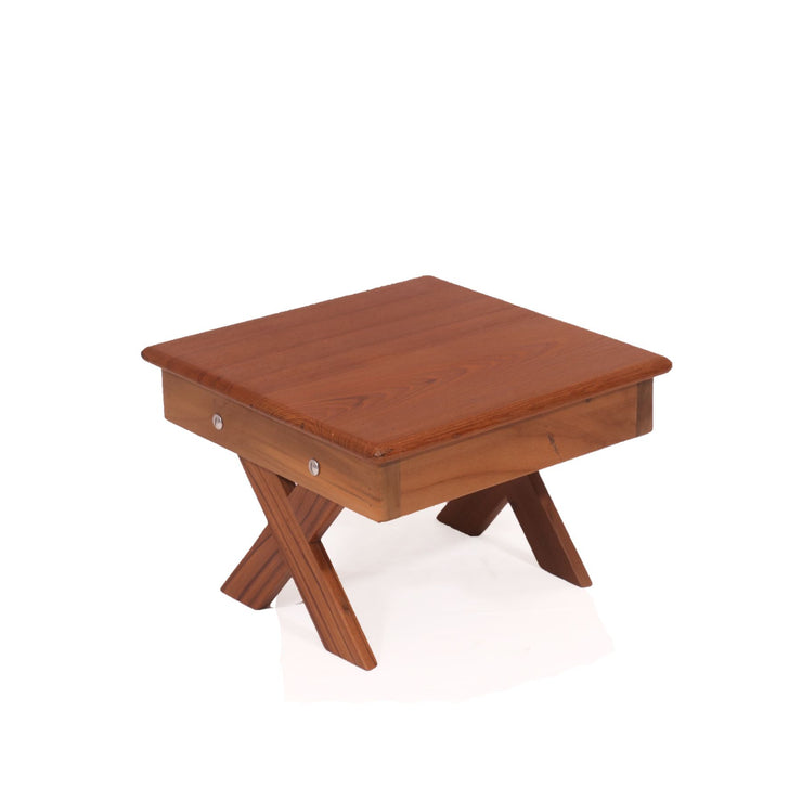 Director's Legs Wooden Table